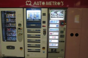Vending machines for the hungry