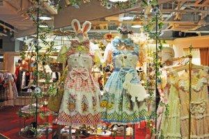 Beautiful shop displays.