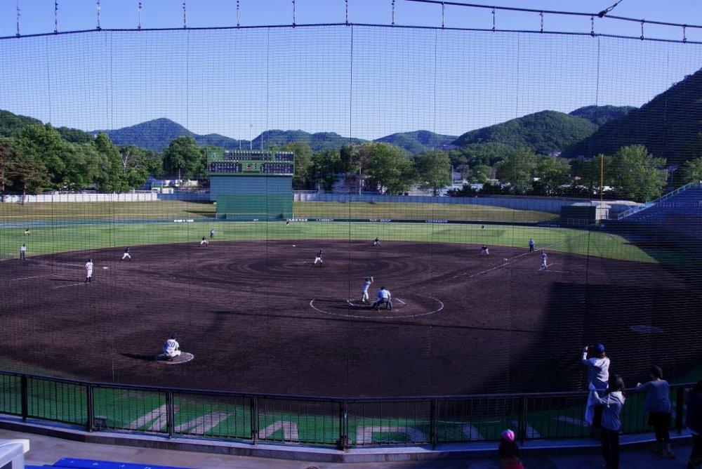 Maruyama Baseball Stadium in Sapporo, Hokkaido