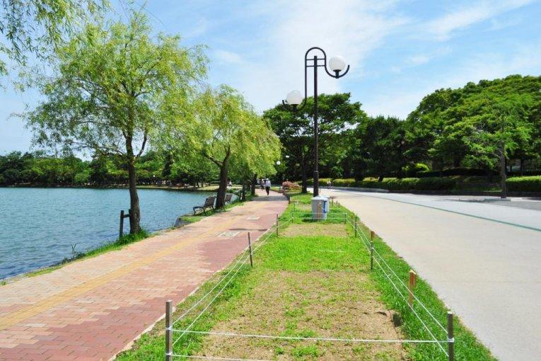 후쿠오카의 오호리 공원