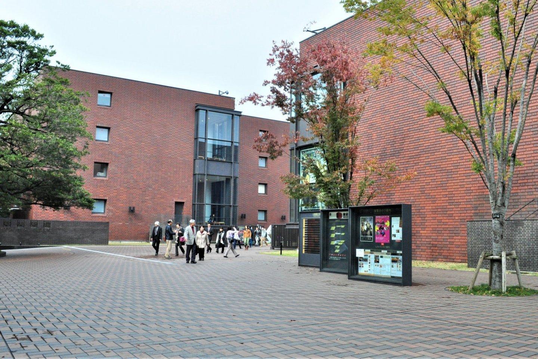 Heading to the Tokyo Metropolitan Art Museum in Ueno