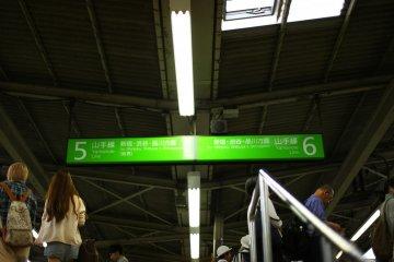 Platform signs