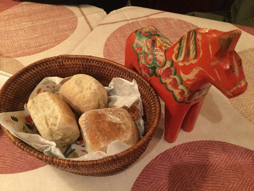 ขนมปังโฮมเมดของร้าน Lilla Dalarna