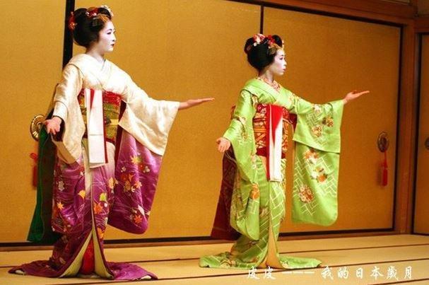 舞伎的表演