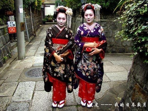 京都偶遇舞伎