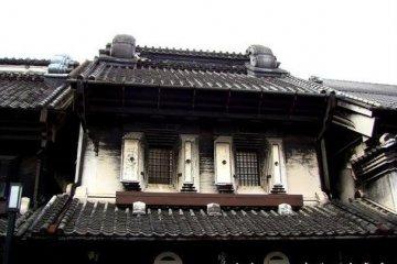 在川越感受到传统日本建筑的魅力