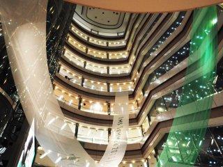 地下2階からの眺め