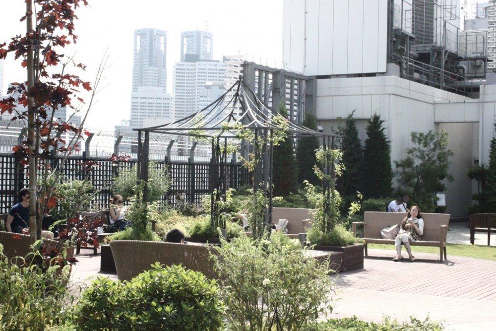 Shinjuku Marui Rooftop Garden Tokyo Japan Travel