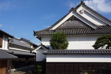 View from West Gate of the Imanishi Residence