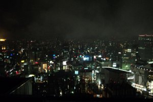 The view from the Tower during the Night