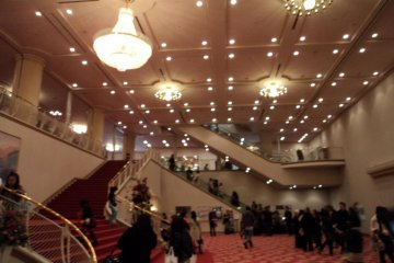 The Grand Hall inside the Theater