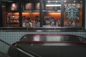 coffee for transiting passengers