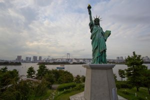 Statue of Liberty in Odaiba