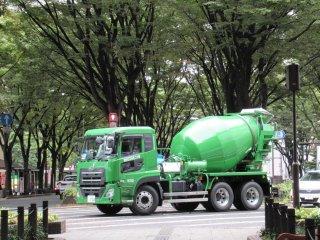 Зелёные машины Сендая