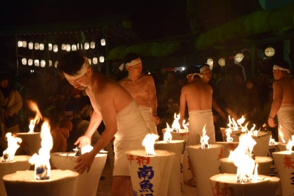 Urasa\'s Naked Pushing Festival is one of Japan\'s most unique events