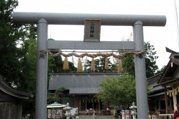 Футахасира - синтоистский храм