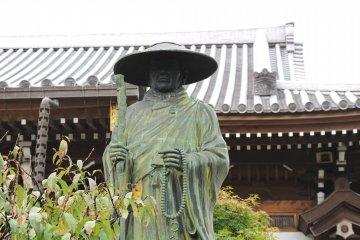 Статуя монаха в Дзэнсёдзи