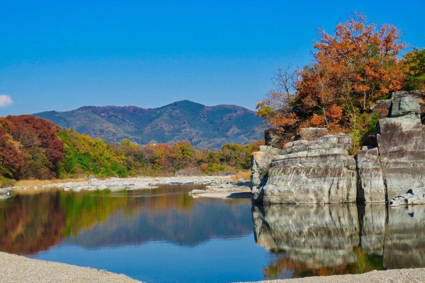 Sông Arakawa tại Nagatoro