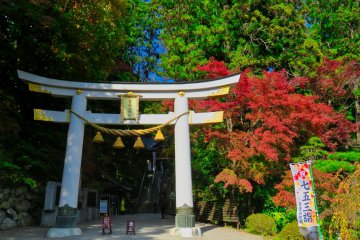 Entrance to Hodosan Shrine
