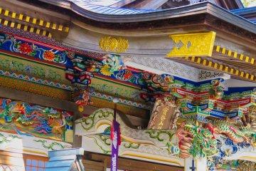 The colors of Hodosan Shrine