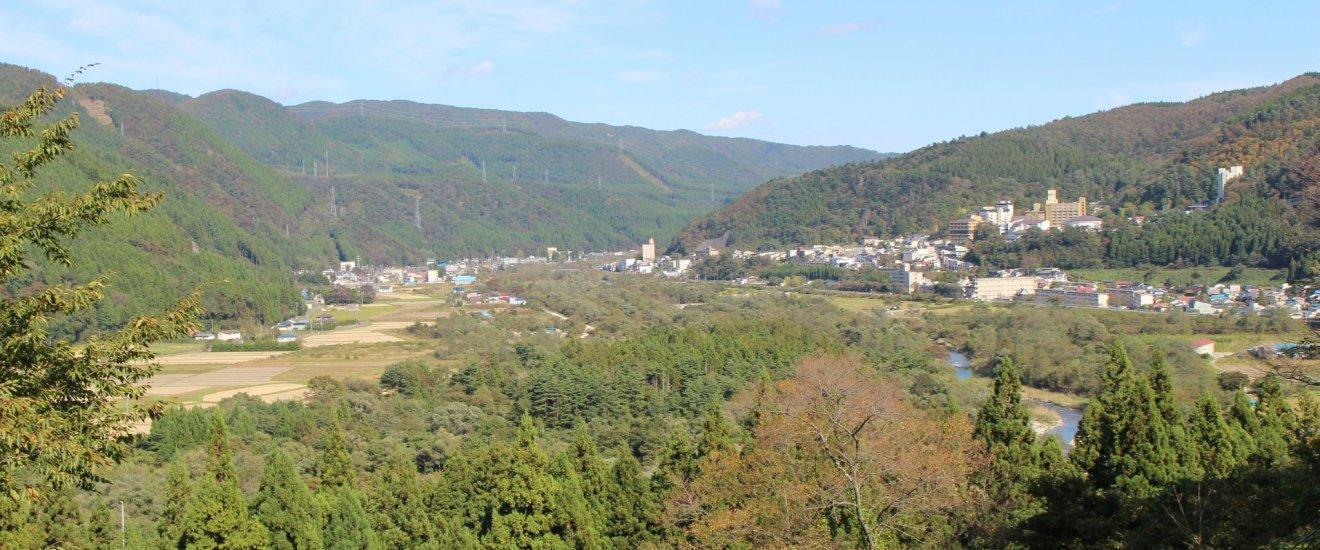 Вид от Музея кокэси