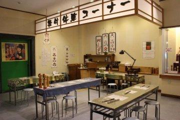 Место для проведения мастер-классов по росписи
