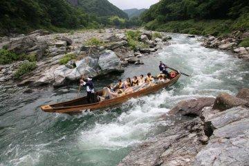 Nagatoro Iwaya Line Kudari, a more traditional whitewater experience