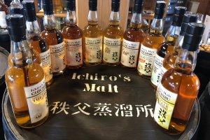 Le Whisky de malt d'Ichirozu