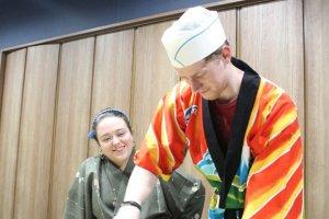 Hands-on Sushi School in Yamazoe