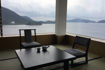 ห้องพักที่ดีที่สุดในโรงแรมนี้มีชื่อว่า Honeymoon Suite