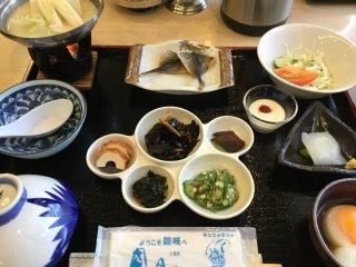อาหารเช้าแบบญี่ปุ่นเบาๆ และดีต่อสุขภาพ