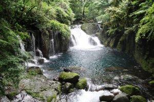 Kikuchi Gorge in Kumamoto Prefecture