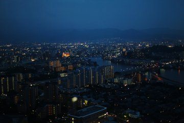 Fukuoka Tower Night Views