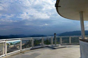 360 degree views over Onomichi