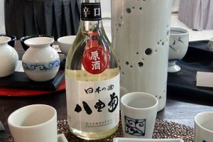 Pottery and sake