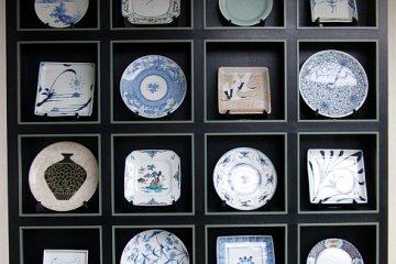 Exhibit of modern ceramics
