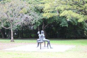 Один из зелёных парков Сендая