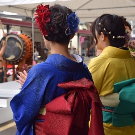 เทศกาลกิโมโน โทะคะมะชิ