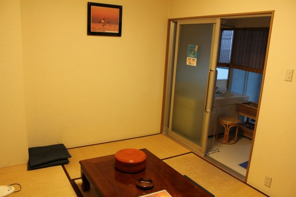 A two-person room at Seapa Makoto