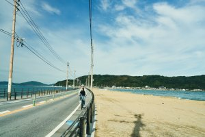 A taste of freedom, cycling in Shikanoshima Island