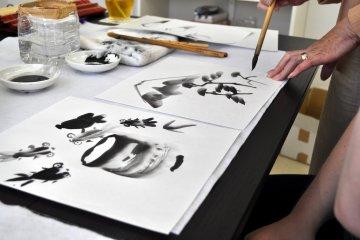 ซุยโบคุ-กะ: ศิลปะแห่งน้ำหมึก
