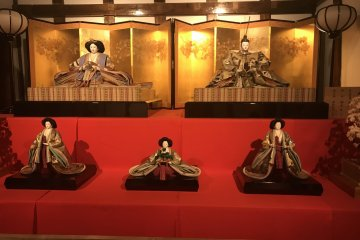 Hina Dolls Collection in Somuro
