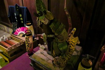 Edo Period statue found after 2011 earthquake clean up