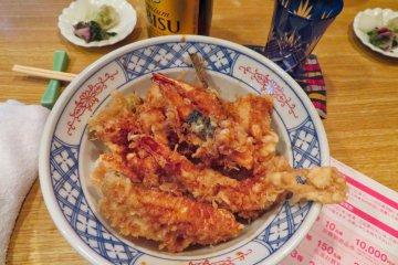 Fish Tempura Kurokawa Restaurant Tsukiji Fish Market