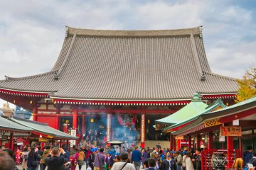 Sensoji Temple Hall