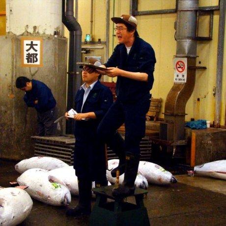 【东京吃喝玩乐】东京厨房—筑地市场
