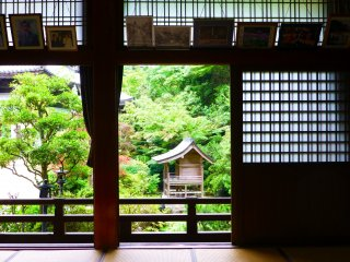 Daisho-in is a place of peace, both inside and outside