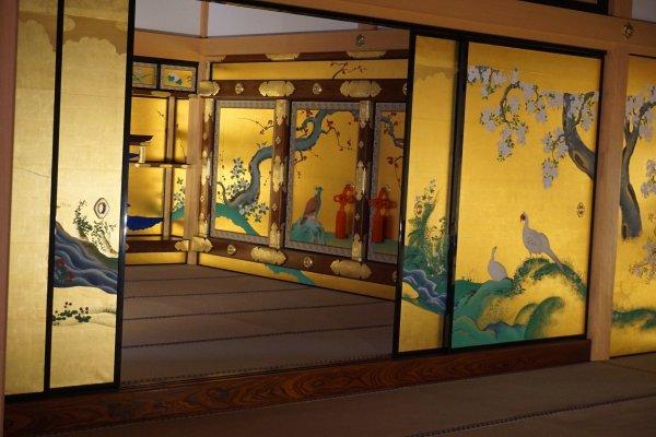 Jorakuden, the shogun accommodation hall