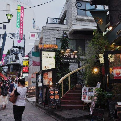 """Supein-zaka """"Spanish Hill"""", Shibuya"""