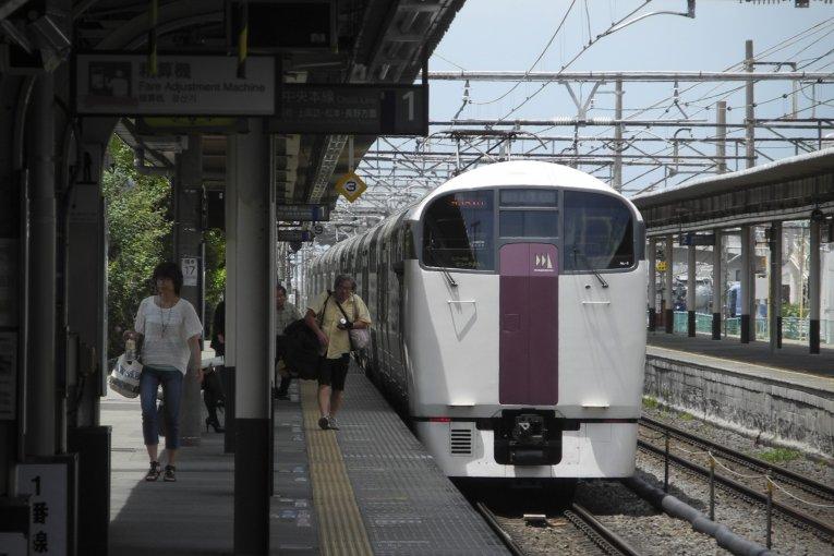 รถไฟ Holiday Rapid View Yamanashi